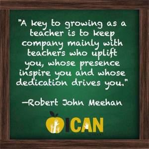 Key to a growing teacher